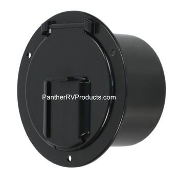 RV Designer B133 Cable Hatch -Black