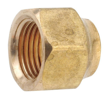 AMC 704018-06 Brass Flare Forged Nut Fitting - 3/8""
