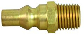 """07-30445 Brass Quick Disconnect 1/4"""" Male NPT"""