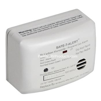 Safe T Alert 25-741-WT Mini  Dual Carbon Monoxide and Propane Gas Alarm - White