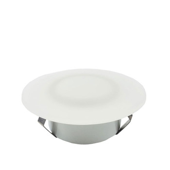 "ECO Series L09-0039NW LED Ceiling Down Light w/ Frosted Glass - 3"" - 3500K"