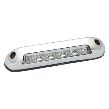 ITC 69711-CH-6.5K RV LED Porch/Ramp Light - Chrome