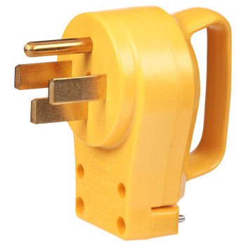 Camco C55255 Male Replacement Power Cord Plug End - 50 Amp