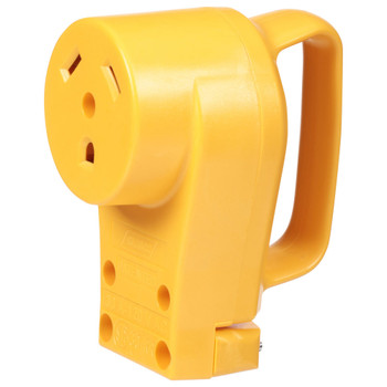 Camco 55343 Female Replacement Power Cord Receptacle - 30 Amp
