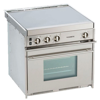 Dometic™ CU-434 Propane 3-Burner Stainless Steel Stove / Oven