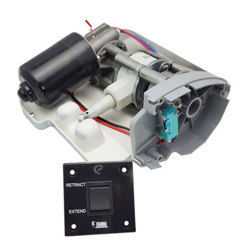 Fiamma 06536-01 Electric Motor Upgrade Kit - F65S - White