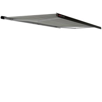 """Fiamma 06880C01R Electric F65 Eagle Case Awning 4.0m (13'9"""") - Black Case - Royal Grey Fabric"""