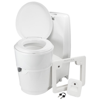Thetford C224-CW Self-Contained Cassette Toilet - Manual Flush