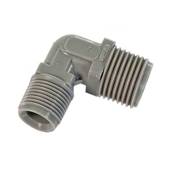 """Zurn Pex  QE32T Plastic 90° Elbow Fitting 1/2"""" MPT  x 3/8"""" MPT"""