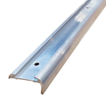 AP Products 021-85003-8 RV Aluminum Medium Leg Corner Molding - Mill - 8 Ft.