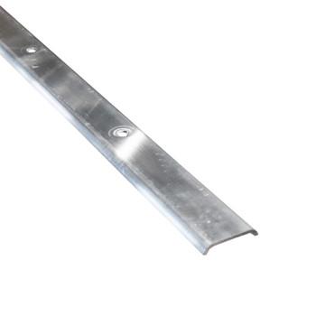 AP Products 021-87203-8 RV Aluminum Flat Trim Molding - Mill - 8 Ft.