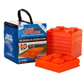 Tri-Lynx 00015 Lynx RV Stackable Leveling Kit - 10 Pack