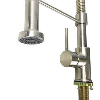 Dehco DH235057 (DH82H10-BN) Restaurant Style RV Kitchen Pull Down Faucet