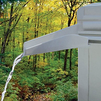 Thetford 94170 RV Rain Gutter Spout - Polar White