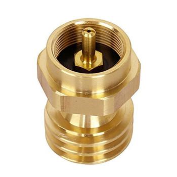 """Propane Adapter - Female P.O.L./Male ACME x 1""""-20 Throwaway Cylinder"""