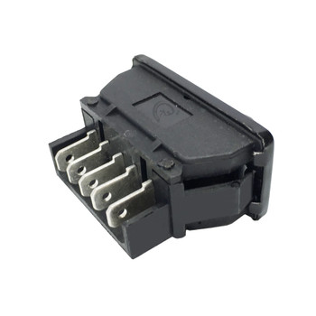 JR Products 13925 Black 12V Furniture Switch