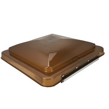 Heng's Industries 90115-C1 RV Cover Hinge & Dome -Amber