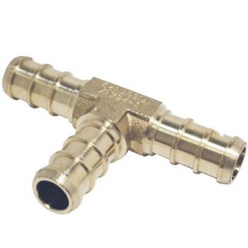 "BestPex 51150 Brass Plumbing Tee 3/8"" PEX"