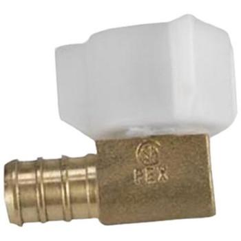 "BestPex 51197 Swivel Elbow Adapter - 3/8"" PEX x 1/2"" FPT"