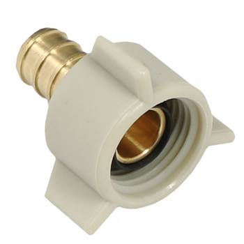 "BestPex 51177 Fresh Water Adapter Fitting 1/2"" PEX x 1/2"" FPT Swivel"