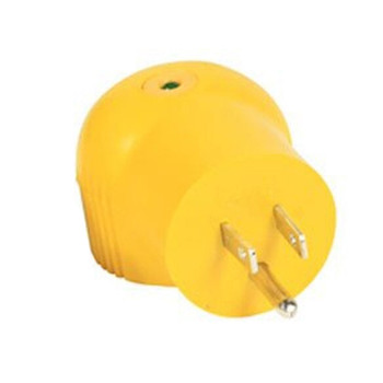 Camco 55325 15 AMP Male to 30 AMP Female 90 Degree Electrical Adapter