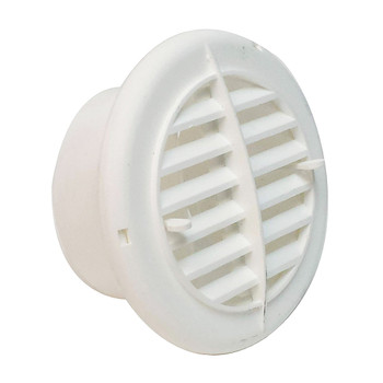 "AP Products A10-3350VP Round Air & Heat Furnace Vent 4"" - White"