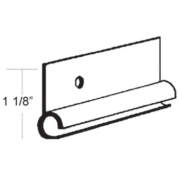 AP Products 021-50801-8 Aluminum Standard Awning Rail (Polar White)