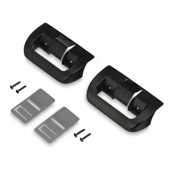 Dometic™ 38511740311 RV Refrigerator Door Handle - Black - 2 Pack