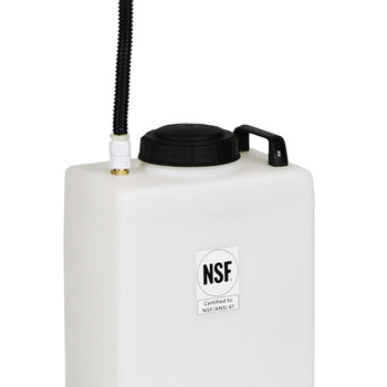 Superior RV Portable Galley Grey Water Holding Tank - 7 Gallons