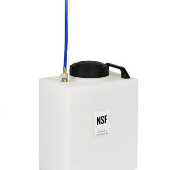 Superior RV Portable Galley Fresh Water Holding Tank w/ Pump - 7 Gallons