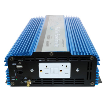 Aims Power PWRI2000 RV DC to AC Pure Sine Wave Power Inverter - 2000 Watt