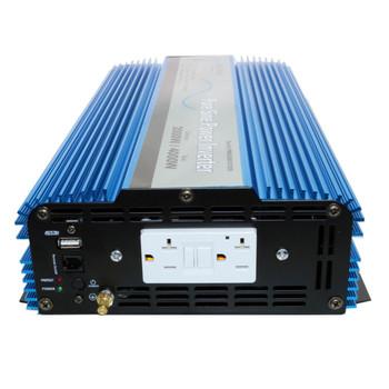 Aims Power PWRI2000 RV DC to AC Pure Sine Wave Power Inverter - 2000 Watt