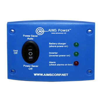 Aims Power REMOTEFLED RV Power Inverter LED Wall Control Panel