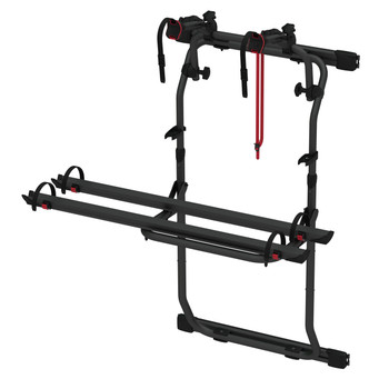 Fiamma 02094A26A Dodge Promaster 200DJ Door Mount Aluminum Bike Rack - Black