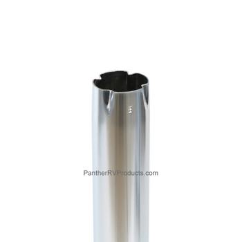 "AP Products 013-939 Hardware Pedestal Table Leg 27-1/2"" - Chrome"