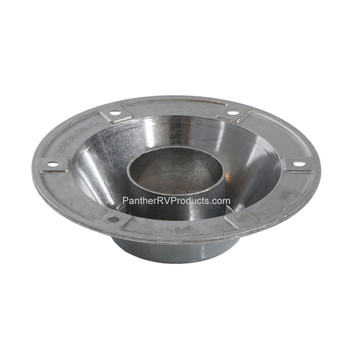 AP Products 013-1119 Round Surface Mount Pedestal Base - Chrome