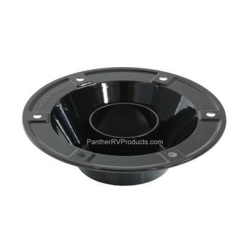 AP Products 013-1119B Round Surface Mount Pedestal Base - Black