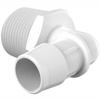 "064-489 RV Fresh Water Elbow Fitting 3/8"" Barb x 1/2"" MPT"