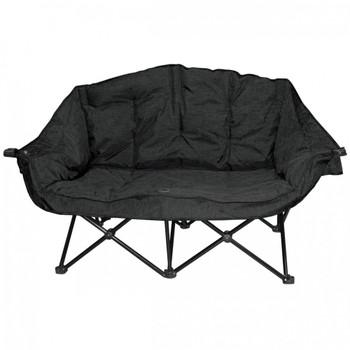 Kuma Outdoors 490-CB Bear Buddy/Double Chair - Carbon Black