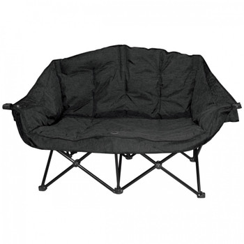 Kuma Outdoors 490-CB Bear Buddy/Double Chair - Carbon Black