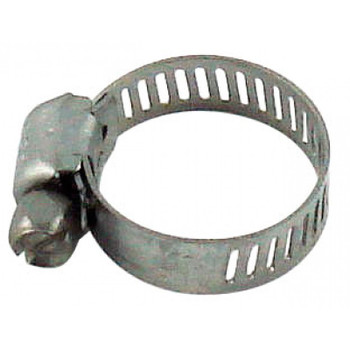 "Worm Gear Clamp Stainless Steel 1/4"" to 5/8"" OD Tube"