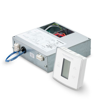 Dometic™ Duo-Therm 3316232.700 CT Single Zone T-Stat w/ Control Kit (Cool/Furnace/Heat Strip) - White
