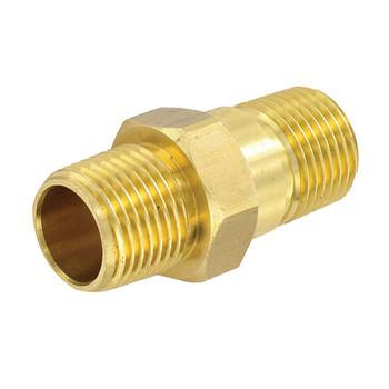 """Valterra P23415LF RV Water Heater Check Valve - Brass - 1/2""""MPT x 1/2""""MPT"""