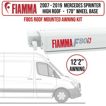"Fiamma® 07-21 Mercedes Sprinter L3H2 - 170"" WB - F80s Patio Awning Kit"