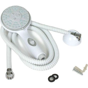 Camco 43714 RV and Marine Handheld Showerhead Kit - White