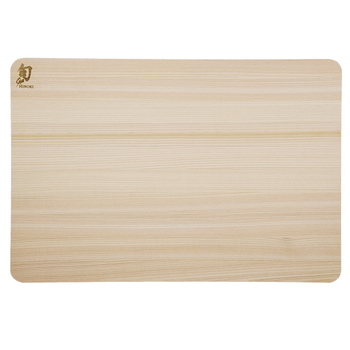 Kai DM0817 RV Kitchen Japanese Hinoki Wood Cutting Board - Large