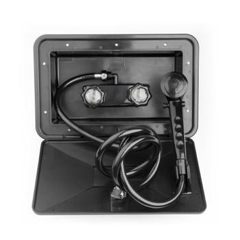 Dura Faucet SA170-BK RV Exterior Shower Box Kit - Black