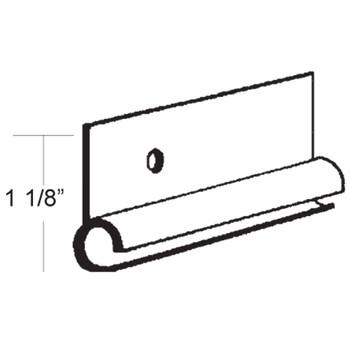 AP Products 021-50801-16 Aluminum Standard Awning Rail (Polar White)