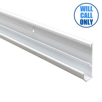 AP Products 021-56201-16 RV Insert Gutter Rail - Aluminum - White - 16 Ft.