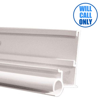AP Products 021-56301-16 RV Insert Gutter/Awning Rail - White - 16 Ft.